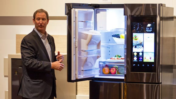 Meet the fridge that can make a grocery list for you