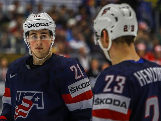 USA v Denmark - 2015 IIHF Ice Hockey World Championship