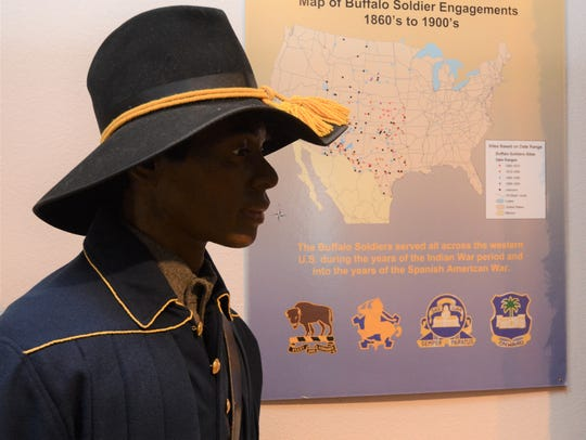 This display depicts the engagements of the various