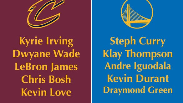 Could a collection of LeBron's best NBA teammates beat the Warriors?