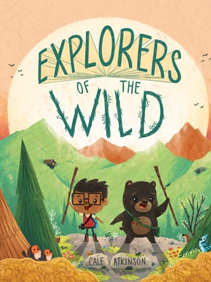 A bear and a boy have an adventure in 'Explorers of the Wild.'