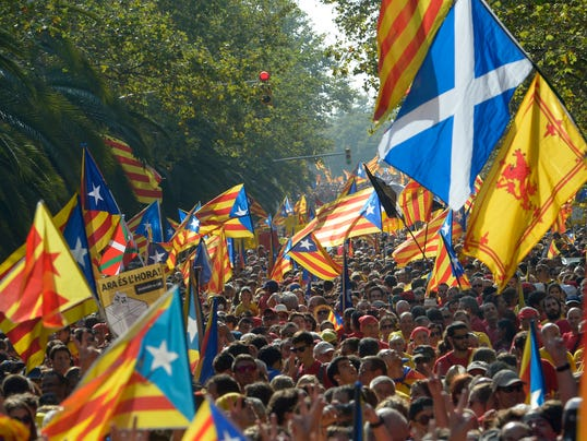 AP Spain Catalonia Independence