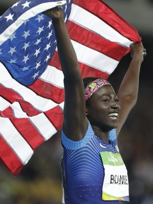 Tori Bowie, who is from Sandhill in Rankin County and went to Southern Miss, won three medals at the Rio Olympics and is the 2016 Clarion-Ledger Sportsperson of the Year.