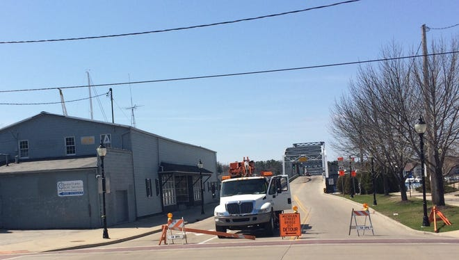 The Michigan Street Bridge in Sturgeon Bay reopened Saturday afternoon. It was closed Friday night due to an accident.