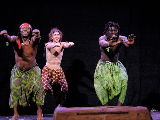 Jeh Kulu Dance and Drum Theater hosts a fundraiser Friday in Burlington. FREE PRESS FILE