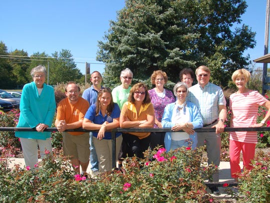 Friends of the Arboretum, who are organizing the Autumn Affair, include, from left, Stephanie Schenk, Josh Selm, Kris Stone, Lacey Laudick, Betty Kasprowicz, Kathy Bailey, Jan Taylor, Joan Klahr, Donna Wilmhoff, Mike Klahr and Carol Reis.