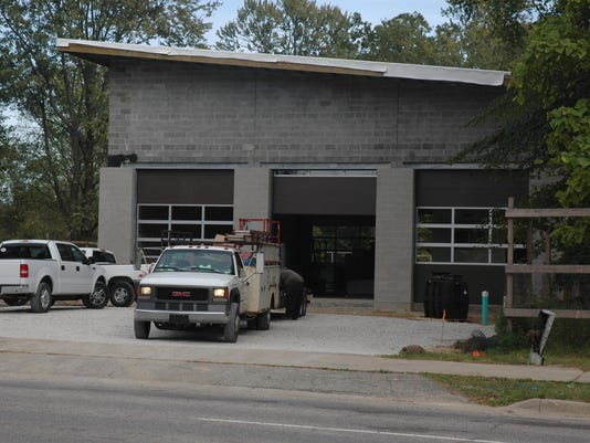 Meridian fire station