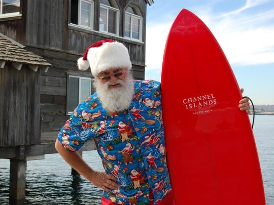 A truly southern California event is Surfin' Santa arriving by seaplane at Seaport Village.