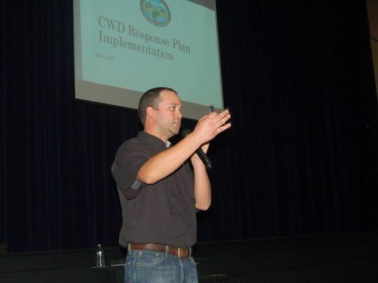CWD Meeting at Dunbar