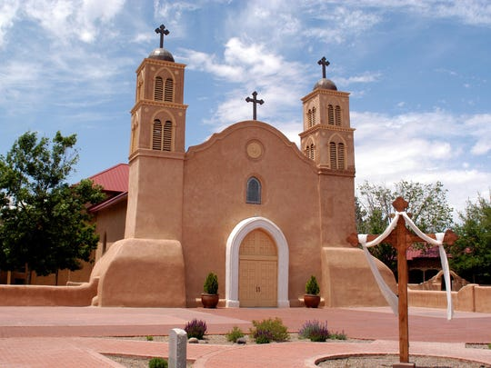 San Miguel Mission in downtown Socorro is the oldest Catholic Church in the nation.