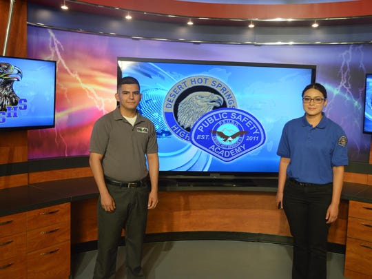 One of the academies featured on a KMIR program is Desert Hot Springs High School's Public Safety Academy.