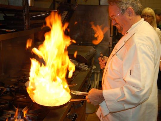 Chef Dario Zuljani at work at his Ariani Ristorante Italiano in Cape Coral.