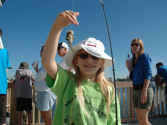 The Kiwanis Kids Fishing Derby at the Cape Coral Yacht Club fishing pier is Saturday, April 1.