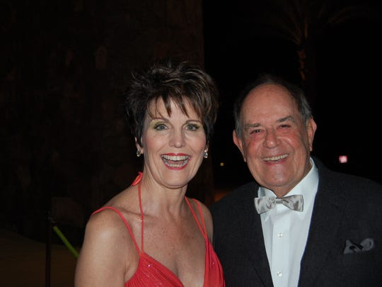 From left: Lucie Arnaz, Laurence Luckinbill