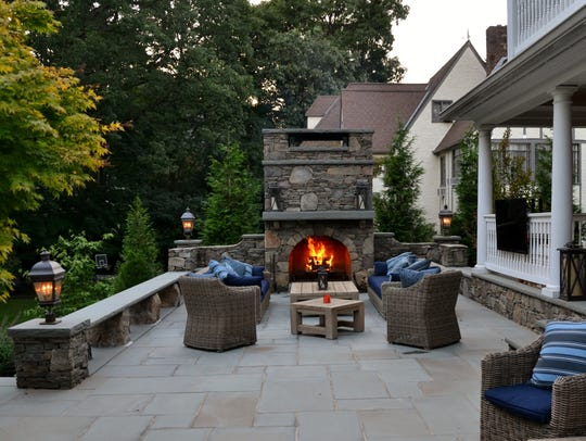 Landscape design by Scenic Landscaping and Tapestry
