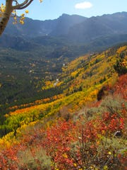 20. The fall colors pop on the Bierstadt Lake Trail in Rocky Mountain National Park. This photo won the October Xplore Photo Contest.
