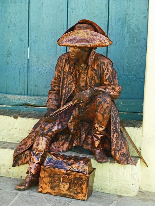 Pirate sculpture guy - Trinidad - photo by JOHN JETER[1]