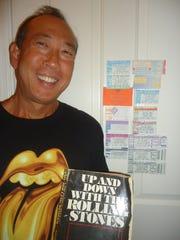 Rolling Stones fan Dean Moriki of Scottsdale, Arizona