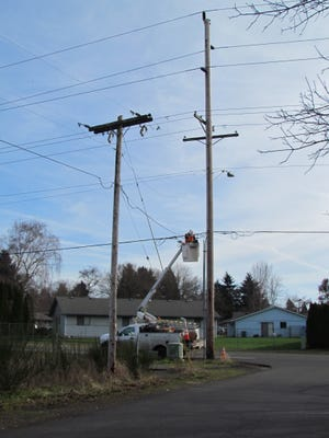 Cost of moving power poles to widen Kindle Way remains and issue between Pacific Power and the city of Stayton.
