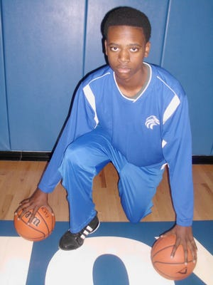 Jeremiah April, 15, is a 6-foot-10 sophomore at Joy Christian High School and is expected to garner attention for the Eagles next basketball season.