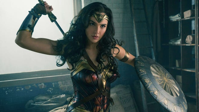 Gal Gadot shows off 'Wonder Woman's powers and weapons in a battle sequence midway through the movie that will leave audiences breathless.