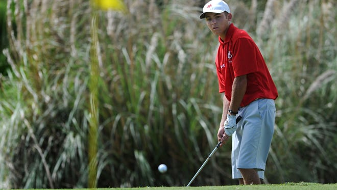 Vero Beach High School's Beck Fox, shown in this file photo, will lead the Fighting Indians in FHSAA state competition starting Tuesday.