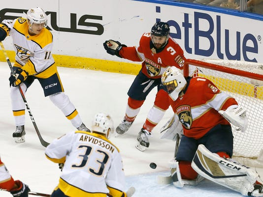 Predators Lose To Panthers Fail To Clinch Central Division Western