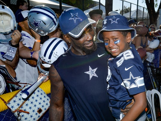Dez Bryant, Joshua Williams, 9,