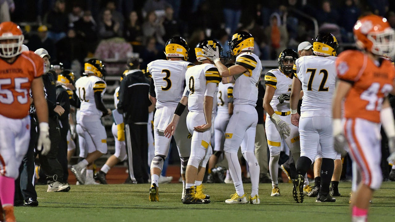 Red Lion head coach Jesse Shay and Zach Throne discuss the Lions' win over Central York.