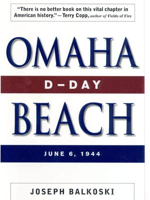 "Cover art for the book ""D-day: Omaha Beach"" by Joseph Balkoski."