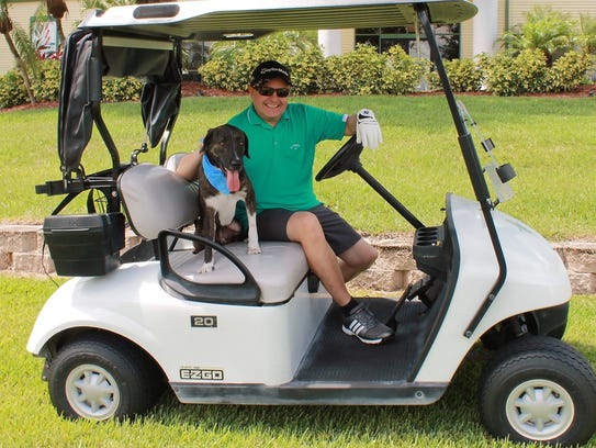 Dominick Alvira, co-chair of the golf tournament, is