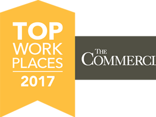 Top Workplaces Memphis 2017 logo.