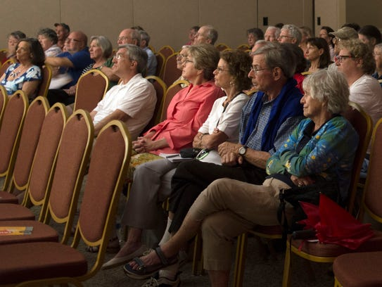 Guests at the Truth and Consequences Symposium with