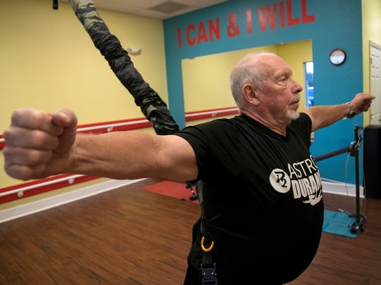 Al Pike, 71, says he is a new man since starting at P2 Personal Training in Cape Coral.