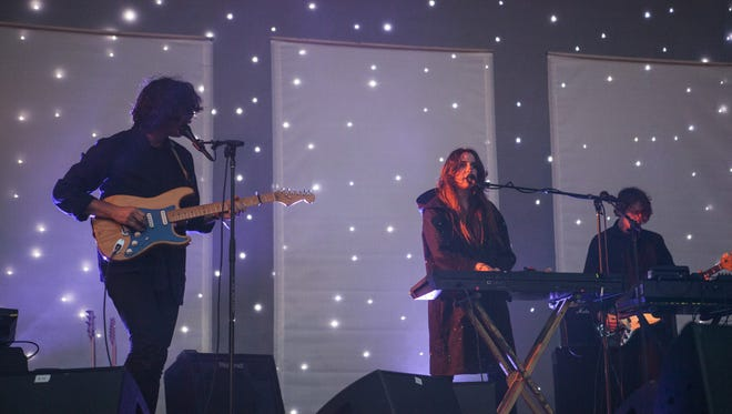 Beach House perform at last year's Pitchfork Music Festival in Chicago.