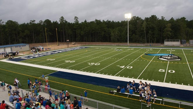 Sacred Heart will host its first game at its new field Friday.