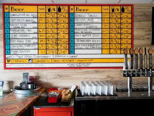Cape Coral Brewing Company currently has 15 beers on