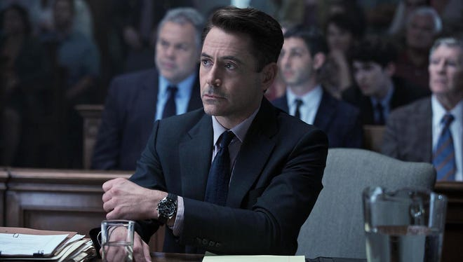 Robert Downey Jr. in a scene from 'The Judge.'