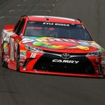 Kyle Busch wins Brickyard 400 for second year in a row