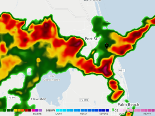 Radar Map Of Florida.Strong Thunderstorms Prompt Weather Advisory For Heavy Rain Gusty Winds