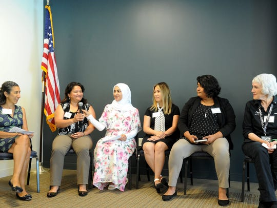 Panelists discussed the challenges of getting an accurate count of Ventura County residents in the 2020 census at an event last year in Camarillo.