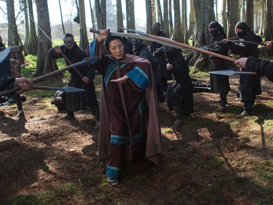 Michelle Yeoh is back in 'Crouching Tiger, Hidden Dragon: