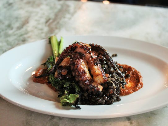 Grilled Octopus from The Cub Room.