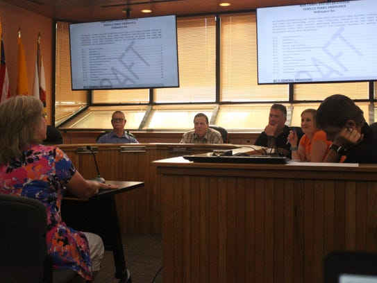 Eddy County residents address the Planning and Development