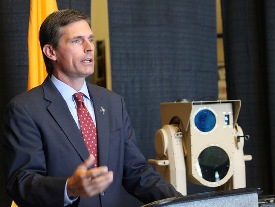 U.S. Sen. Martin Heinrich, D-New Mexico, discusses