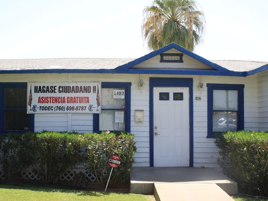TODEC Legal Center in Coachella helps immigrants apply