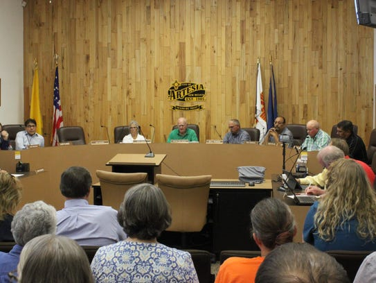 The Artesia City Council discusses the recent E. coli