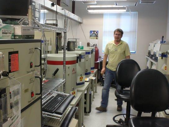 Labs at the Carlsbad Environmental Monitoring and Research