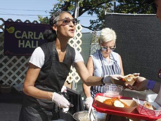Top Chef finalist Carla Hall, who now co-hosts ABC's