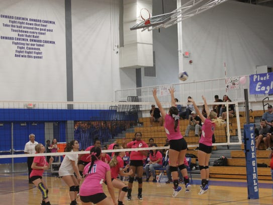 The Cavegirls take on the Hobbs Eagles on Oct. 3 at